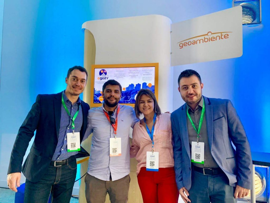 Equipe Geoambiente - Google Cloud Summit 2018 - 05/12/2018