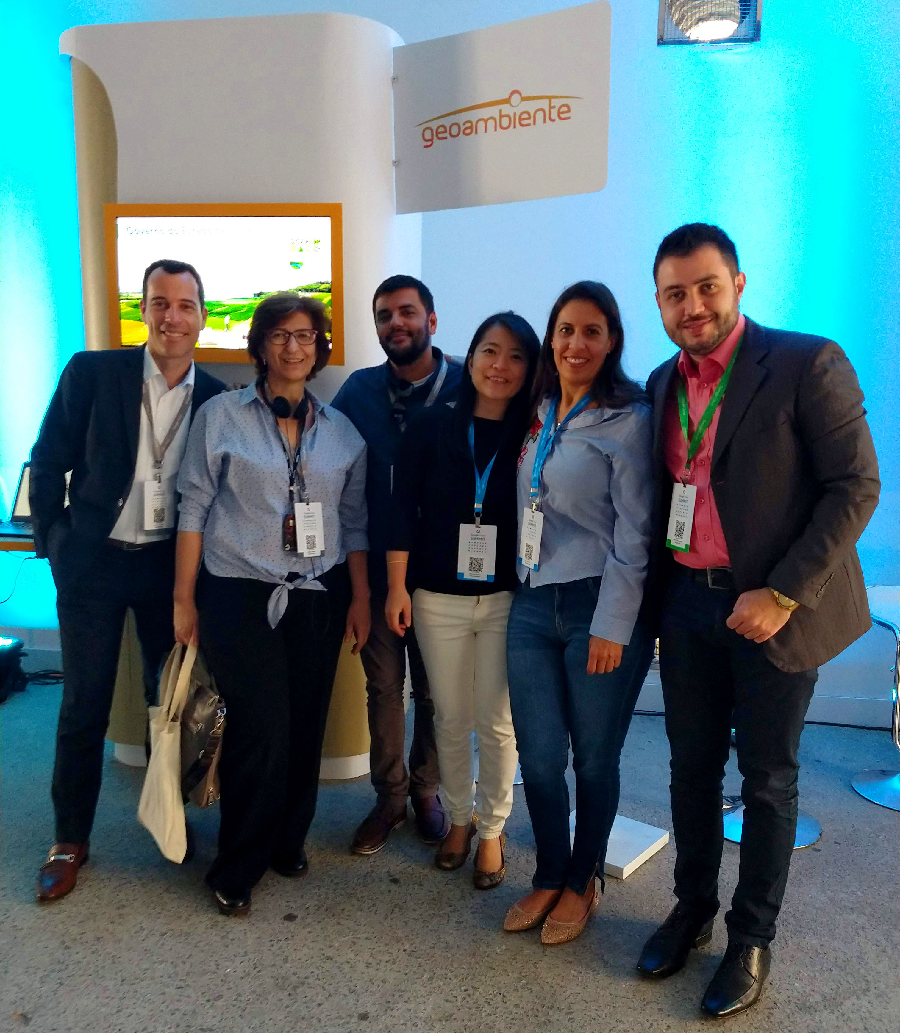 Equipe Geoambiente - Google Cloud Summit 2018 - 06/12/2018